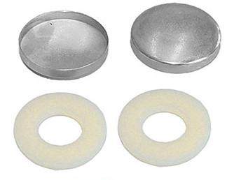 Unassembled Snap Molds - Steel Shells